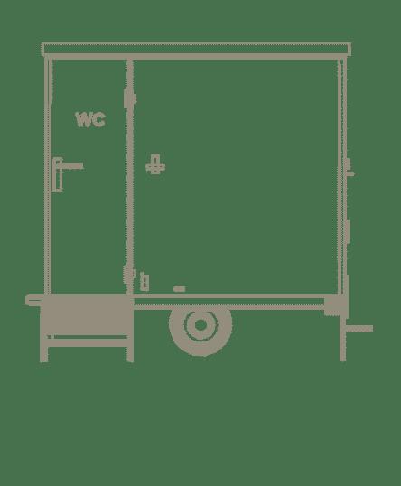 Matériel événementiel dessin sanitaire