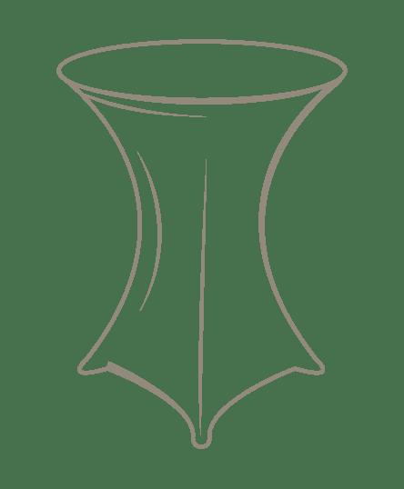 Matériel événementiel dessin table